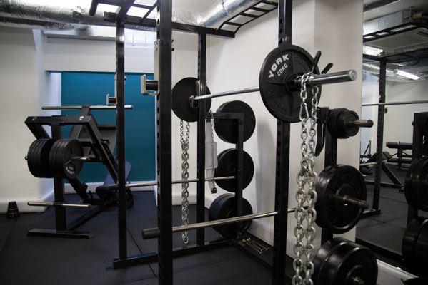 The Fitting Rooms Southwark Gym in London Bridge Gym Leg press