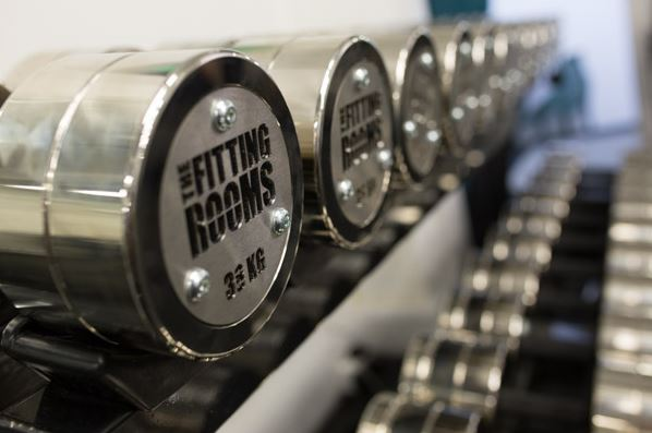 The Fitting Rooms Southwark Gym in London Bridge - The Fitting Rooms Gym London Bridge dumbbells