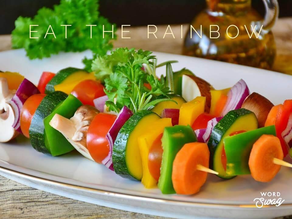 Eat the rainbow for optimal health