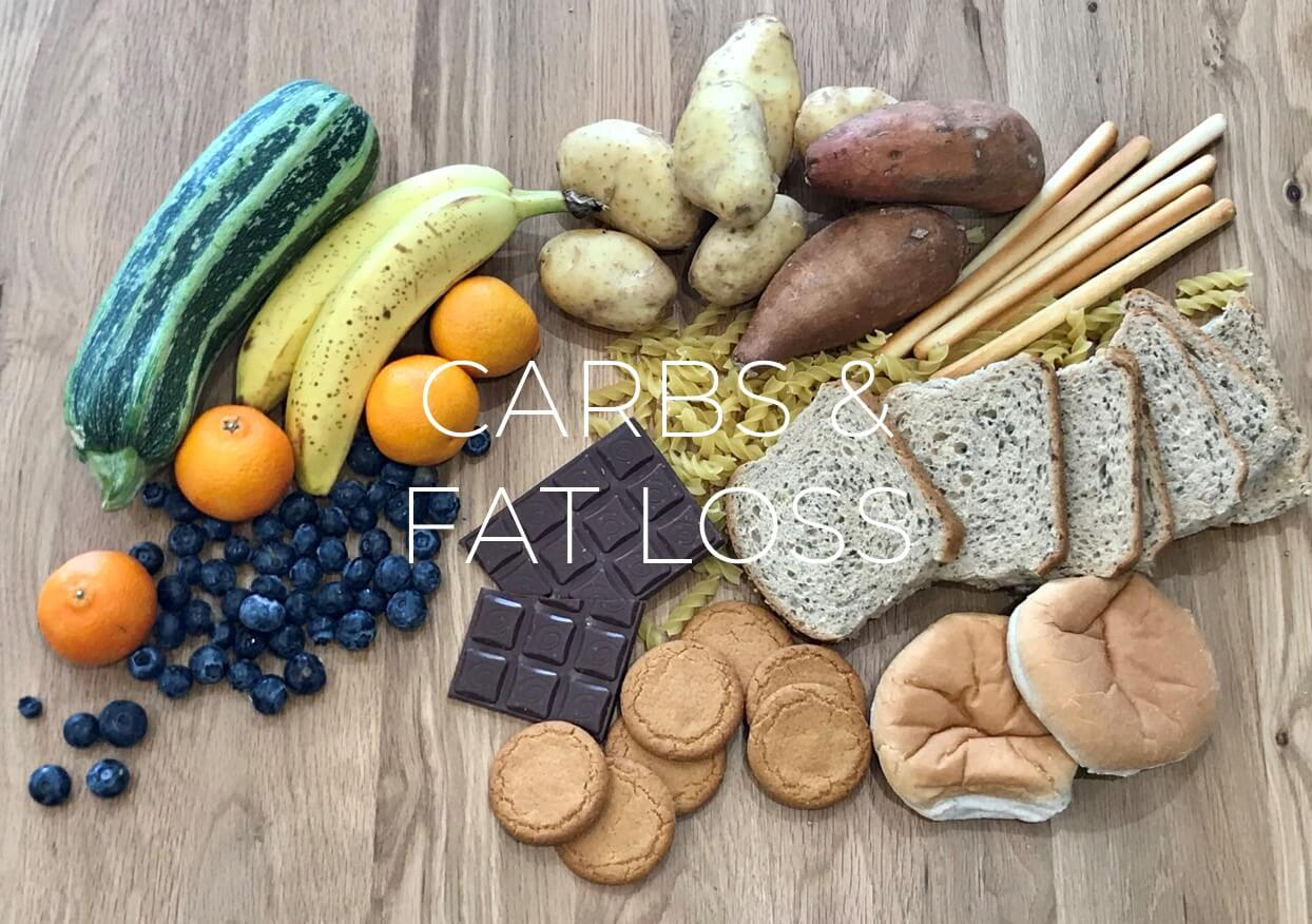 Eating carbs on a fat loss diet