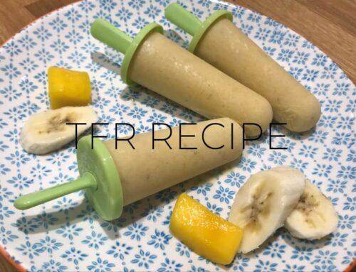 Healthy Banana & Mango Lolly Recipe