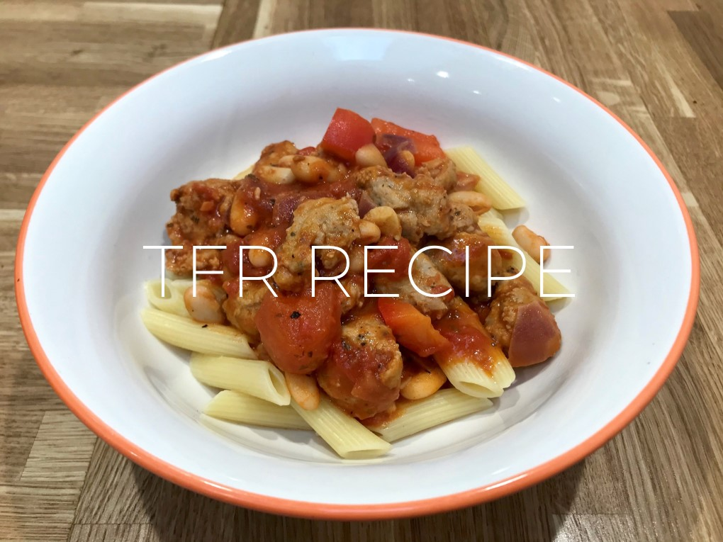 Low Fat Sausage & Bean Stew