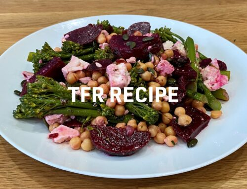 Brocolli, Beetroot & Feta Salad Recipe