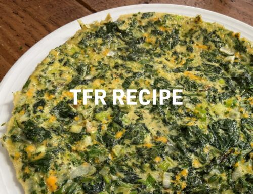 Middle Eastern Spinach & Herb Omelette Recipe…